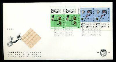 Briefmarken Europa Hart Arbeitend Niederlande 1987 Satz Auf Ersttagsbrief 72480