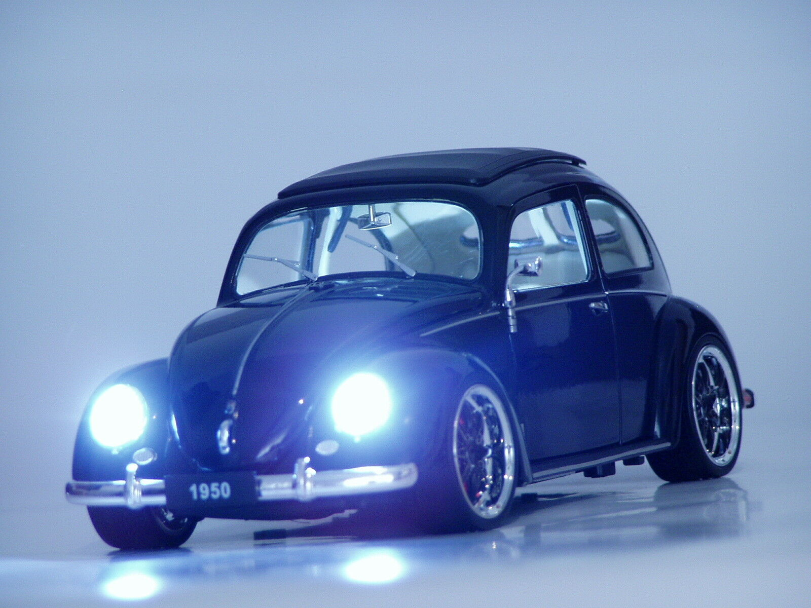 VW Käfer 1 18 Tuning Xenon Alufelgen Beleuchtung Beetle Brezelkäfer GTI R GT RS