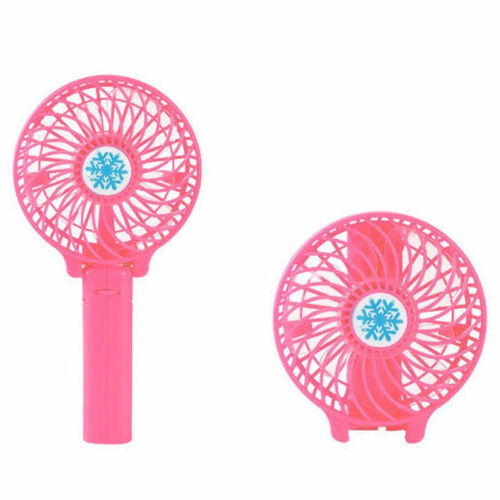 Portable Fold Fan USB Mini Oscillating Hand Held Air Cooler Air Conditioner Gift