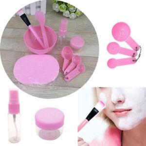 9-in-1-Mixing-Bowl-Brush-Spoon-Stick-Makeup-Beauty-Set-Face-Facial-Mask-Kit-Tool