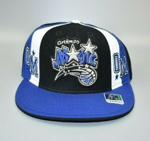 Orlando-Magic-NBA-Hardwood-Classics-Men-039-s-Fitted-Cap-Hat-Size-7-1-8