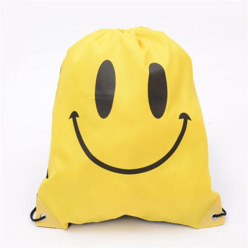Personalised Sport Waterproof Drawstring Bag PE School Gym Sack Swim Rucksack