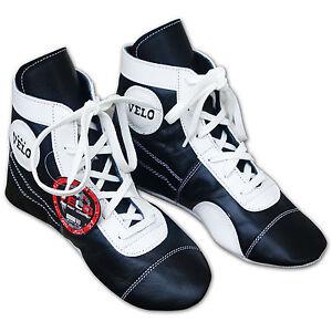 Velo leather boxing training shoes mesh sports genuine unisex lightweight boot