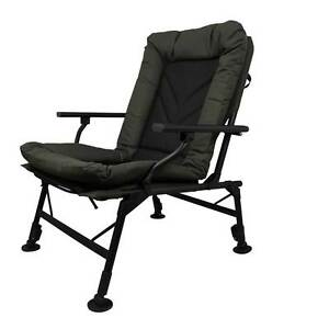 Image Is Loading Prologic Cruzade Comfort Chair With Arms Ultra Padded