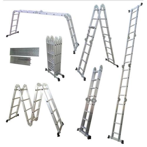 4.7 Aluminium pliable Extension Multipurpose multifonction échelle EN131