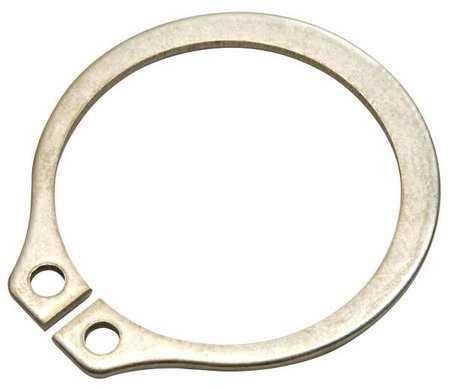 ZORO SELECT SH-50SS Retain Ring,Ext,Dia 1//2 In,PK10