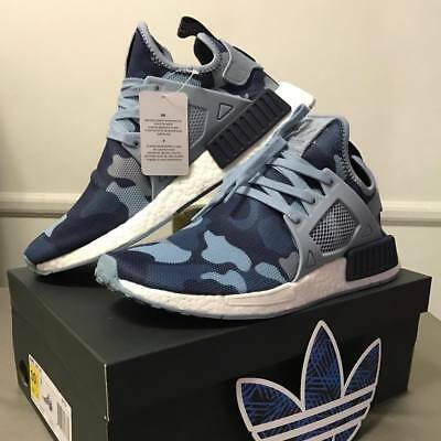 NMD XR1 Adidas Core Blue Duck Camo Mens Size: US 9 or Womens size 10.5 | eBay