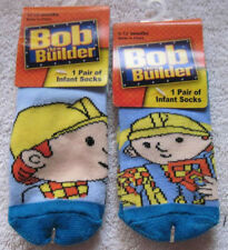 18 Months Baby Infant Socks Tools Construction Bob The Builder 1 Pair 6-12
