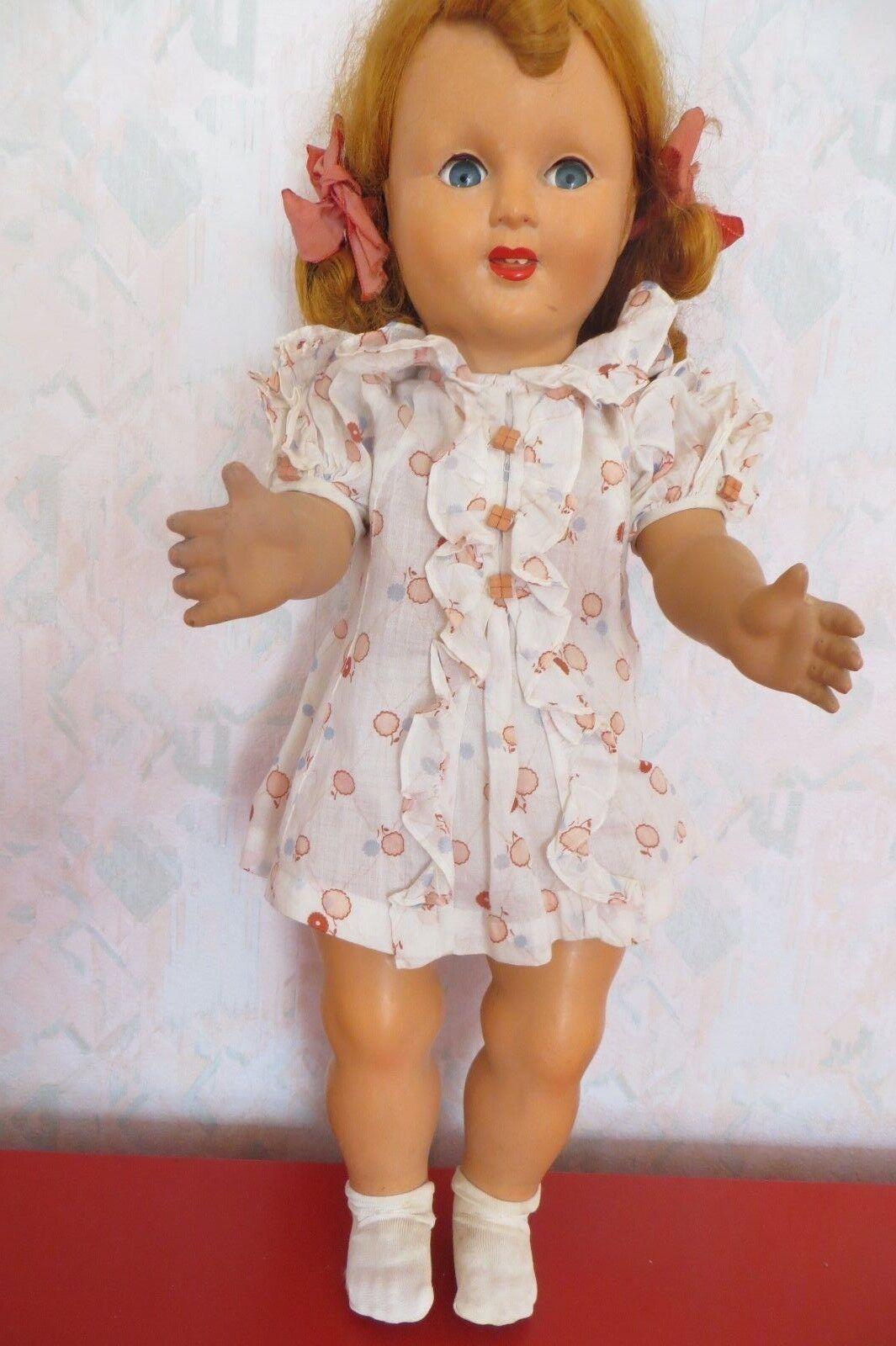 Belle poupée gégé années 50