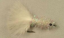 Schminnow  White size #2  Saltwater flies- Snook Bonefish