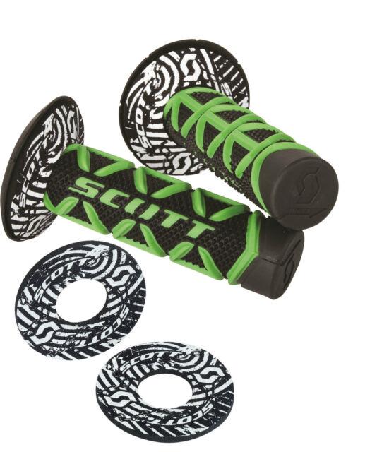 Scott Diamond MX Motocross Grip Moto Enduro impugnatura di gomma incl ciambelle
