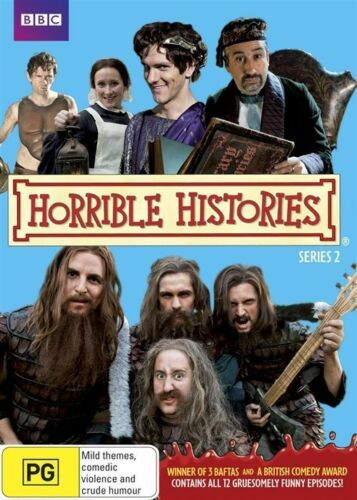 1 of 1 - Horrible Histories : Series 2 (DVD2-Disc Set) Brand New Genuine D52/D159/D176