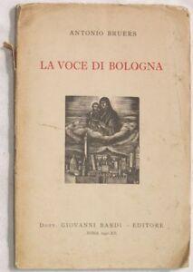 1942-ANTONIO-BRUERS-LA-VOCE-DI-BOLOGNA-AUTOGRAFATO-XILO