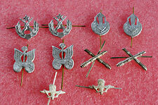 Lot of 10 Russian Soviet ARMY MILITARY INSIGNIA  Pin Badge for Collar Tabs