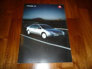 Citroen C5 Prospectus 10/2001 Danemark-afficher Le Titre D'origine DernièRe Mode
