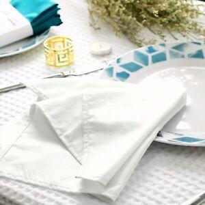 Dozen-of-Napkin-Wedding-Hotel-Restaurant-Table-Cloth-Multi-color-15-inch-square