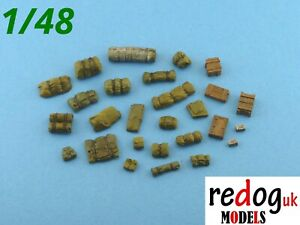 1-48-Stowage-kit-diorama-modelling-accessories-33-pieces-48-1