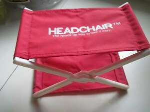 R-Headchair-Head-Chair-Vintage-Heads-Up-Way-To-Take-It-Easy-Desk-Nap-Tan-Pillow