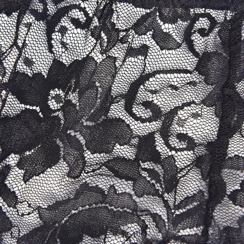 Lace Nylon Women Garter Belts 6 Straps Suspender With Metal Buckles S-XXL TRDFU