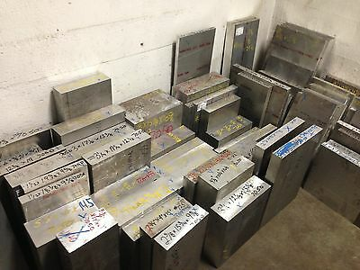 "7050-T7451 Aluminum Plate 1/"" x 10/"" x 12/"""