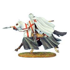 CRU049 Mounted Crusader Templar Knight Charging by First Legion