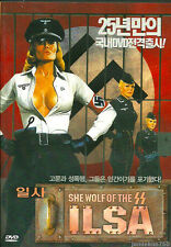 Ilsa She Wolf of The SS (1974) Dyanne Thorne DVD Uucut Version From Korea