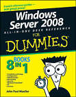 Windows Server 2008 All-in-one Desk Reference For Dummies by John Paul Mueller (Paperback, 2008)