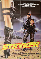 Stryker|O Sobrevivente 1983 Steve Sandor Ken Metcalfe Filmplakat Scotia-Film
