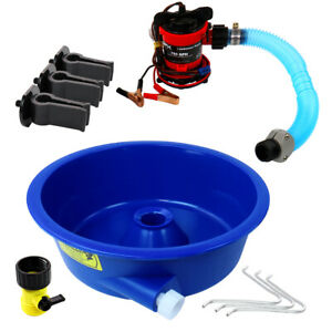Blue-Bowl-Concentrator-Kit-with-Pump-Battery-Clips-Leg-Levelers-Gold-Prospecting