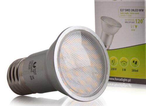 LED SMD 2835 Spot Lampe Streuglas Strahler LEDLampe E27 warmweiß 5W ~ 40W 420 lm