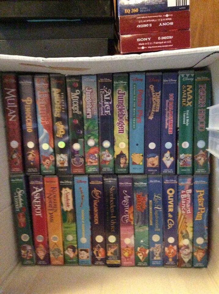 Film, Disney DVDer 33stk