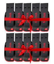 Combo offer Sandisk Pen Drive Cruzer Blade 8gb (Pack of 10)