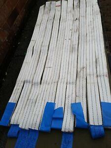 10x1200Kg Endless Polyester Webbing LiftingRound Sling 2.45mtr