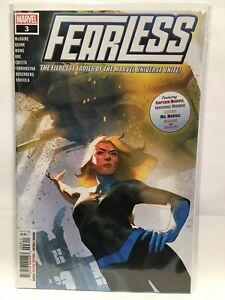 Fearless-2019-3-Nm-1st-Estampado-Marvel-Comics