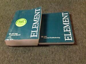 2007 2008 2009 honda element service shop repair manual set w ewd rh ebay co uk Honda Element Engine Problems Honda 3013 Hydrostatic Manuals