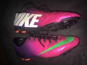 Details Zu Fussballschuhe Nike Mercurial Pink Lila Grun Weiss Grosse 37 5
