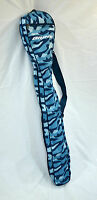 Brine Women's Girls Blue Lacrosse Stick Bag Carrying Bag Stickbag Case Camo