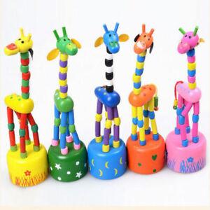 Funny-Baby-Kids-Intellectual-Developmental-Educational-Wooden-Giraffe-Toy-Gift