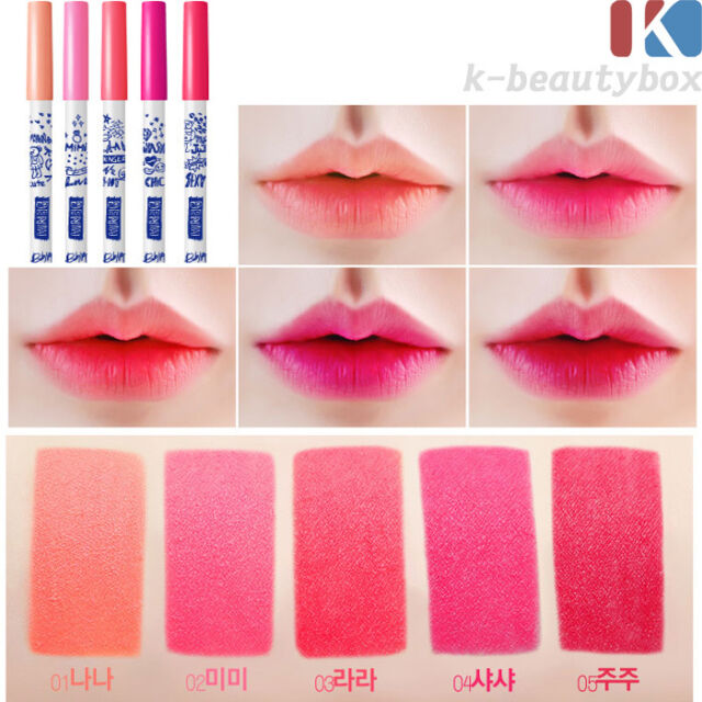PENCIL LIPSTICK Long lasting texture lip pencil 5COLOR All day Real Strong color