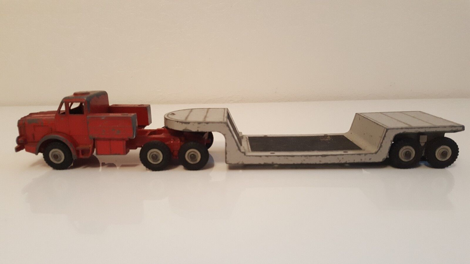 Dinky Toys 986 - Mighty Antar Low Loader with Propeller camion transport hélice