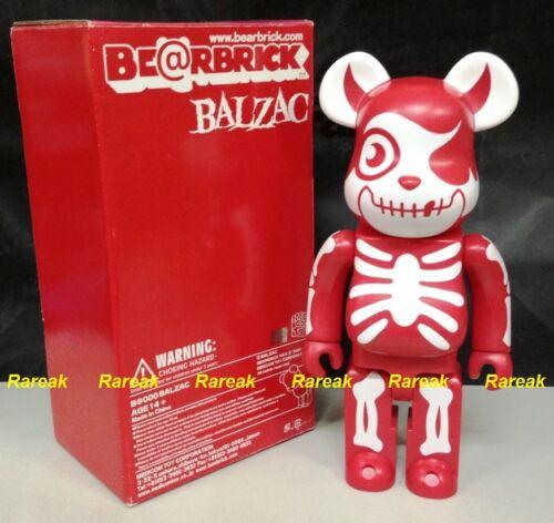 Medicom 2006 Be@rbrick Balzac 400/% Horror Atom-Age Vampire Red bearbrick