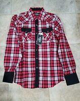 Camisa Vaquera El General Sleeve Shirt Size (s) Slim Fit El General Silver
