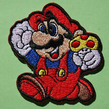 Ecusson Patch thermocollant brodé Super Mario