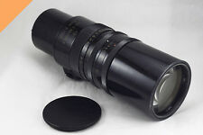 """Tair-3 f/4.5 - 300mm (M39/M42 mount) """"Grand Prix Brussels"""" USSR with TEST PHOTOS"""