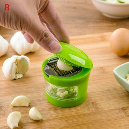 Kitchen Accessories Plastic Ginger Garlic Grinding Tool Magic Stainless Steel Pe