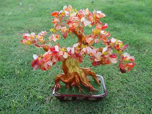 1X-New-Treasure-Red-Gemstone-Feng-Shui-Money-Tree