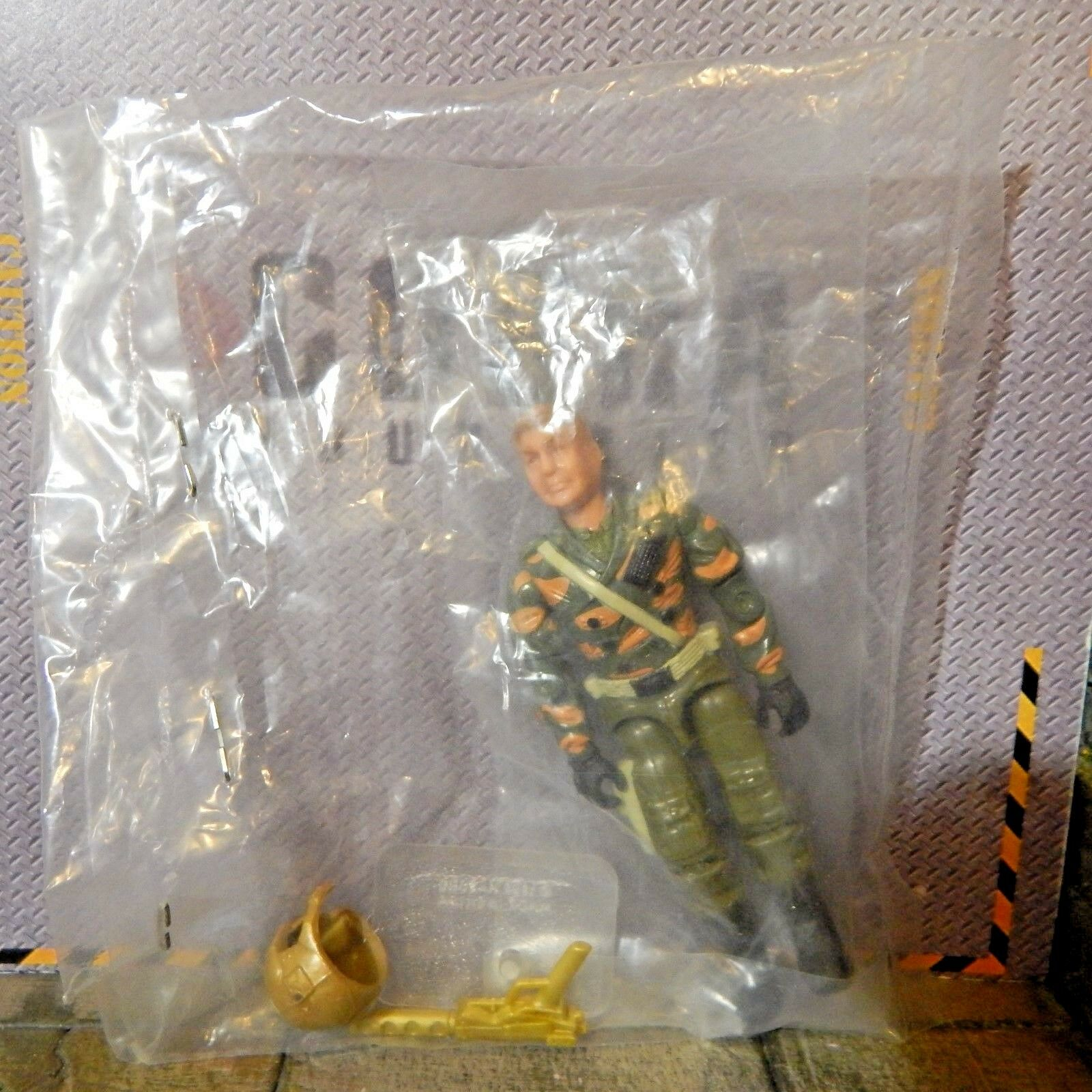 GI JOE  MAJOR STORM MIB MISB  OPERATION ANACONDA CONVENTION 100% complete