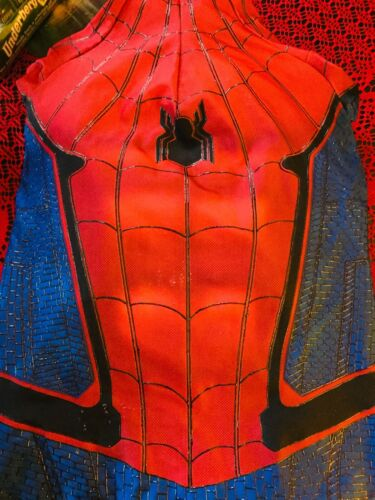 spiderman homecoming suit 3d painted