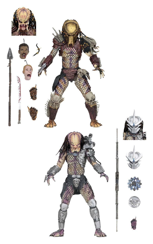 Prossoator Bad Sangue Pacco 2 Statuette Ultimate Bad Sangue & Enforcer Neca