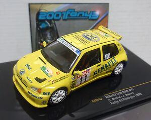 RENAULT-CLIO-MAXI-11-JORDAN-RALLY-ROUERGUE-1995-1-43-IXO-RAC157